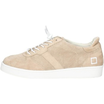 Chaussures Homme Baskets basses Date D.a.t.e. E18-20 Petite Sneakers Homme Beige Beige