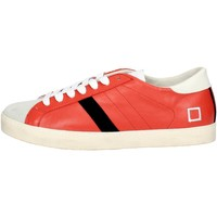 Chaussures Homme Baskets basses Date D.a.t.e. E18-23 Petite Sneakers Homme Rouge Rouge