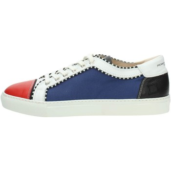 Chaussures Homme Baskets basses Date D.a.t.e. E18-35 Petite Sneakers Homme Blanc/Rouge Blanc/Rouge