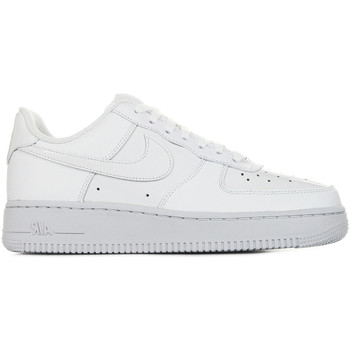 Chaussures Femme Baskets basses Nike WMNS Air Force 1 '07 Patent blanc