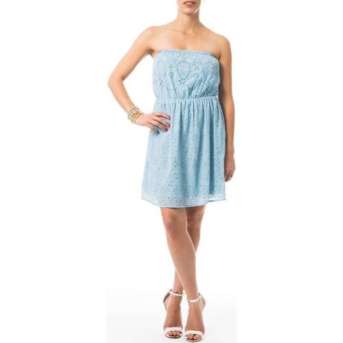 Vêtements Femme Robes courtes Vero Moda ABHI Bleu
