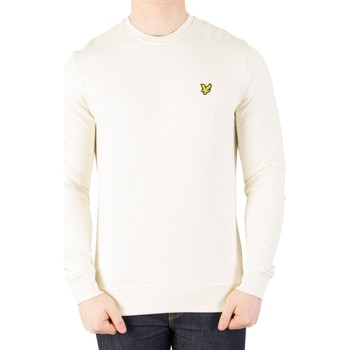 Vêtements Homme Pulls Lyle & Scott Homme Sweat-shirt à logo, Blanc blanc