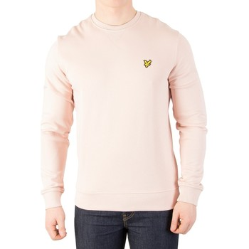 Vêtements Homme Pulls Lyle & Scott Homme Sweat-shirt à logo, Rose rose