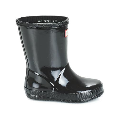 Hunter Gloss Chaussures Noir Kids Pluie First De Enfant Bottes Classic rCxdBoe