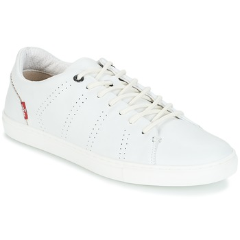 Chaussures Homme Baskets basses Levi's VERNON Blanc