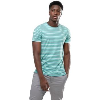 Vêtements Homme T-shirts manches courtes Minimum OXLEY Bleu Turquoise
