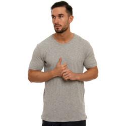 Vêtements Homme T-shirts manches courtes Minimum PERCY Gris Clair