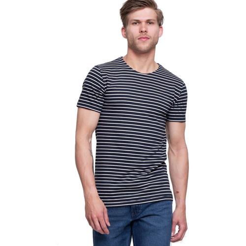 Vêtements Homme T-shirts manches courtes Minimum ORION Bleu Marine