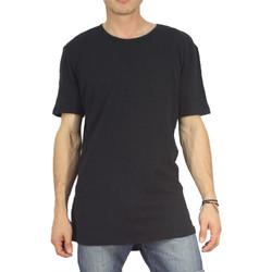 Vêtements Homme T-shirts manches courtes Minimum PERCY Noir