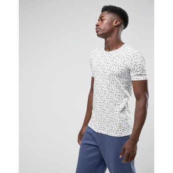 Vêtements Homme T-shirts manches courtes Minimum JOHNSTON Blanc
