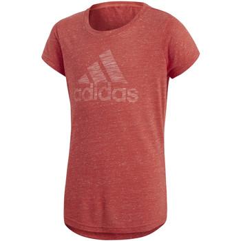 Vêtements Enfant T-shirts manches courtes adidas Originals T-shirt  Yg Id Fabr Rouge K rouge
