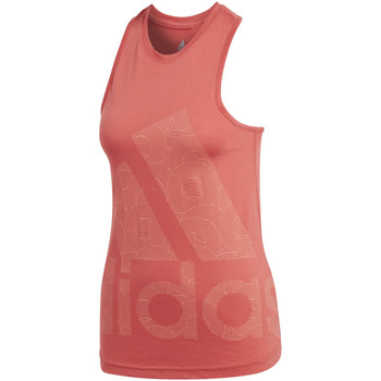 Vêtements Femme Débardeurs / T-shirts sans manche adidas Performance Débardeur  Débardeur Logo Cool rose