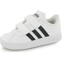 Chaussures Enfant Baskets basses adidas Originals Baskets  Vl Court 2.0 Velcro blanc