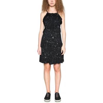 Vêtements Femme Robes courtes Desigual Robe Cassius Noir 18SWVK44 38