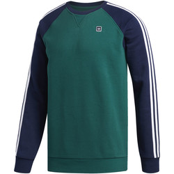 Vêtements Homme Polaires adidas Originals Sweat-shirt Uniform Vert / Bleu / Blanc