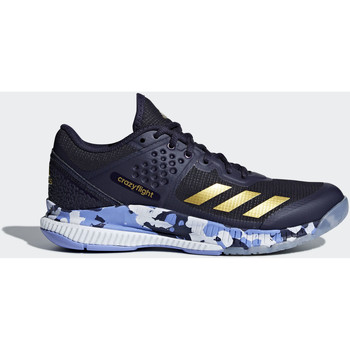 Chaussures Femme Baskets basses adidas Performance Chaussure Crazyflight Bounce Bleu / Or