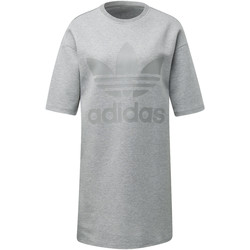 Vêtements Femme Robes courtes adidas Originals Robe Gris