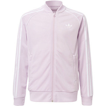 Vêtements Fille Sweats adidas Originals Veste de survêtement SST pink