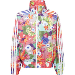 Vêtements Fille Vestes de survêtement adidas Originals Coupe-vent GRPHC Multicolore