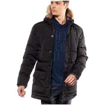 Vêtements Homme Parkas Japan Rags Parka Homme Garuda1 Noir