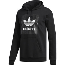 Vêtements Homme Sweats adidas Originals Sweat-shirt à capuche BB Warp Noir / Gris