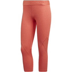 Vêtements Femme Leggings adidas Performance Tight 3/4 Alphaskin Sport Heather Orange / Multicolore