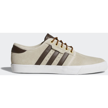 Chaussures Homme Baskets basses adidas Originals Chaussure Seeley Marron / Marron / Blanc