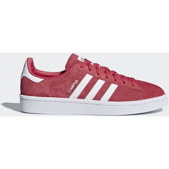 Chaussures Femme Baskets basses adidas Originals Chaussure Campus Rouge / Blanc / Blanc