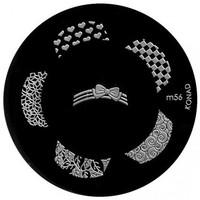Beauté Femme Accessoires ongles Konad - Plaques de stamping Nail Art M56 Autres