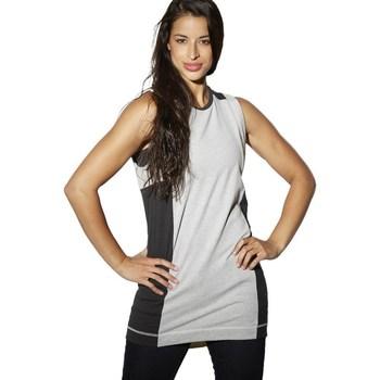 Vêtements Femme Débardeurs / T-shirts sans manche Reebok Sport DC Tee Dress Noir-Gris