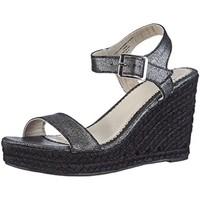 Chaussures Femme Espadrilles Pieces HALLOUMI Argent