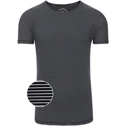 Vêtements Homme T-shirts manches courtes Kronstadt TIMMI TEE Bleu Marine