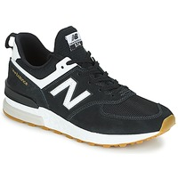 Chaussures Homme Baskets basses New Balance MS574 Noir