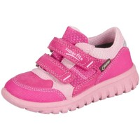 Chaussures Enfant Baskets basses Superfit Sport Mini Pink Kombi Velour Tecno Textil Rose