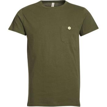 Vêtements Homme T-shirts manches courtes Kronstadt HEYHO NOPE Vert Armée