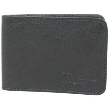 Sacs Femme Porte-monnaie C. By Claudia Luc Petit porte cartes en cuir extra plat  Fabriqué en France LE FOU Noir