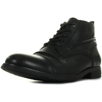 Chaussures Homme Boots Kickers Massimo Cuir Tonga Noir noir