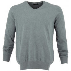 Vêtements Homme Pulls Real Cashmere Pull col V  - IUB108842-GRIS Gris