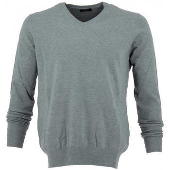 Vêtements Homme Pulls Real Cashmere Pull col V Real Gris