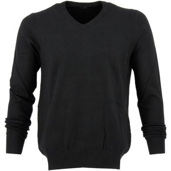 Vêtements Homme Pulls Real Cashmere Pull col V Real Noir