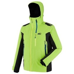 Vêtements Homme Vestes Millet 7/24 STRETCH JACKET HOMME ACID GREEN/NOIR ACID GREEN/NOIR