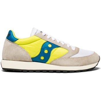 Chaussures Homme Baskets basses Saucony JAZZ O VINTAGE WHITE NEON YELLOW Jaune