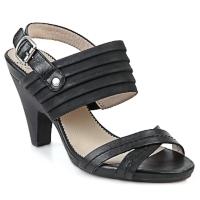 Chaussures Femme Sandales et Nu-pieds Wonders BELTRAO Noir