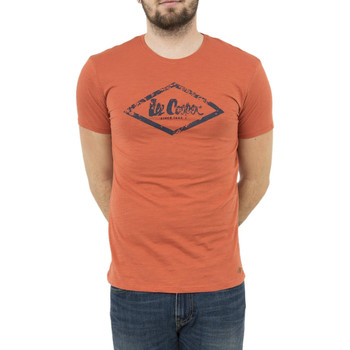 Vêtements Homme T-shirts manches courtes Lee Cooper tee shirt  006105 apash 2440 orange orange