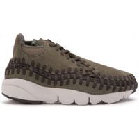 Chaussures Homme Baskets basses Nike Air Footscape Woven Chukka - Ref. 443686-300 Kaki