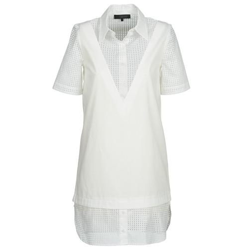 Robes American Retro CHARLOTTE Blanc 350x350