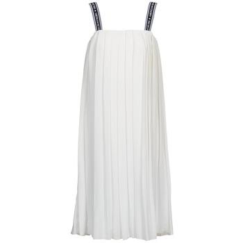 Robes American Retro VERO LONG Blanc 350x350
