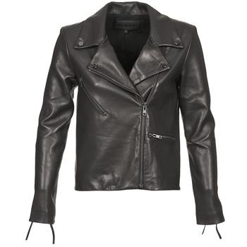 Vêtements Femme Vestes en cuir / synthétiques American Retro LEON JCKT Noir