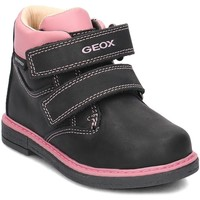 Chaussures Enfant Boots Geox Baby Glimmer Noir