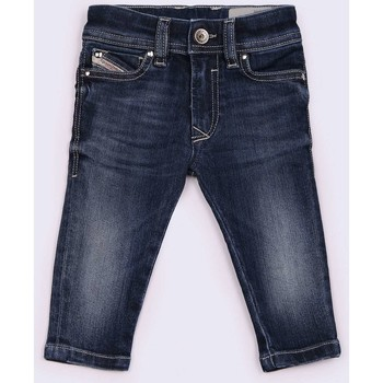 Vêtements Enfant Shorts / Bermudas Diesel SLEENKER-B 00K1MG JEANS Enfant DENIM MEDIUM BLUE DENIM MEDIUM BLUE